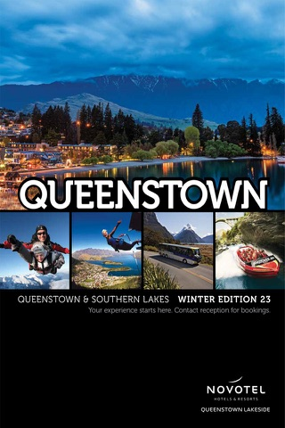 Novotel Queenstown Lakeside Magazine screenshot 1