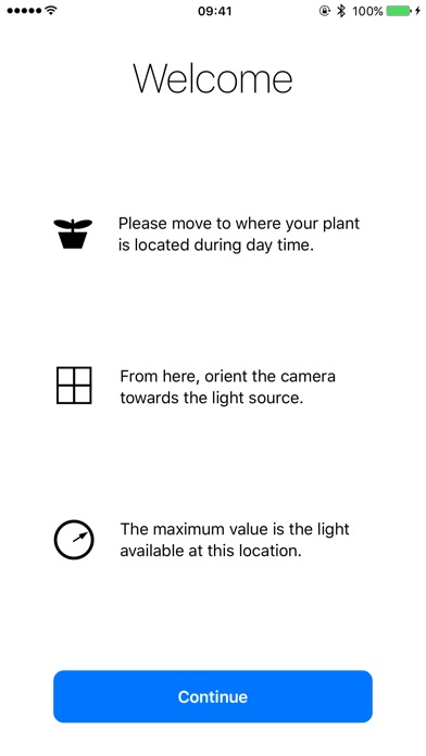 Plant Light Meter Screenshots
