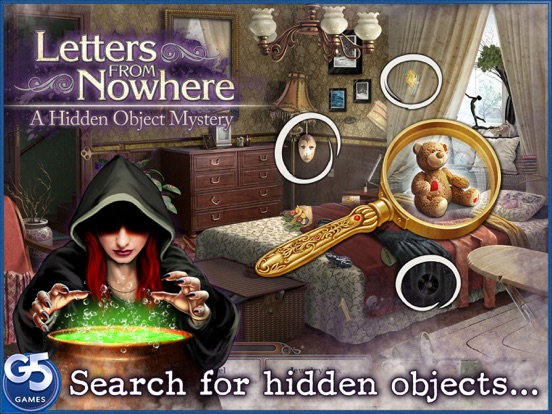 Screenshot #1 for Letters From Nowhere®: A Hidden Object Mystery