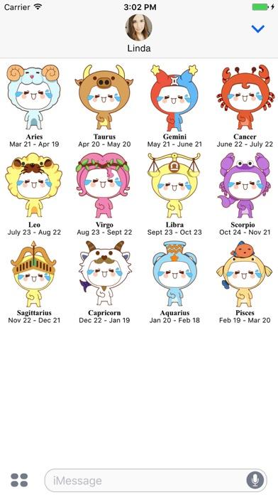 download Horoscope Sticker apps 1