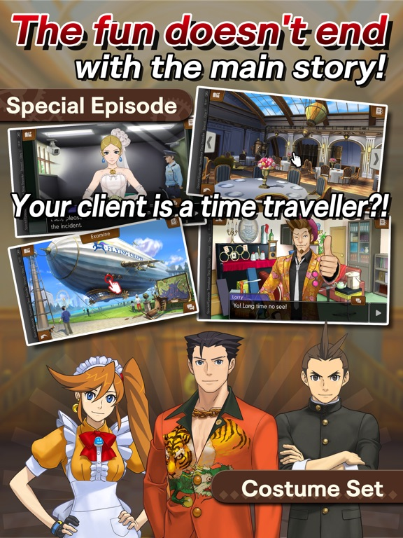 Phoenix Wright: Ace Attorney - Spirit of Justice Screenshots