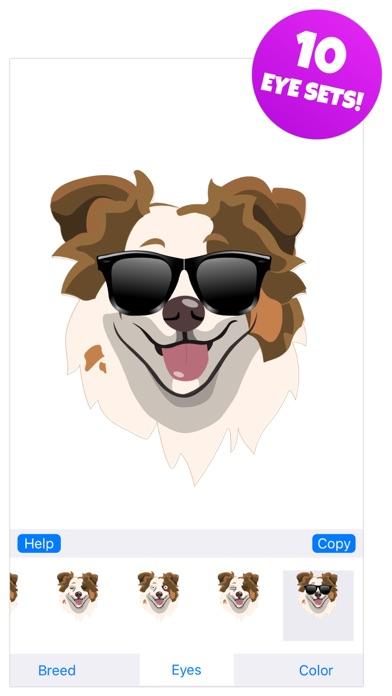 Dog Emojis - Sticker Pack Screenshot