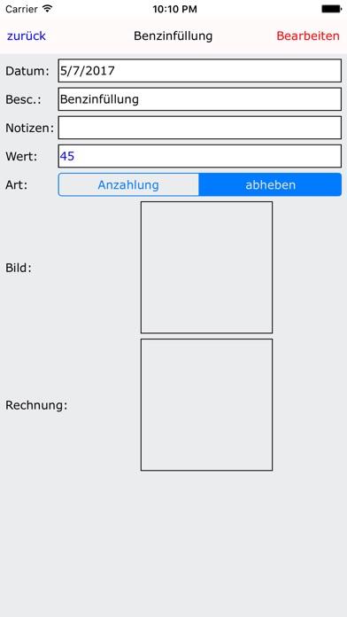 Screenshot von iSpend Wallet : Budget halten Assistent4