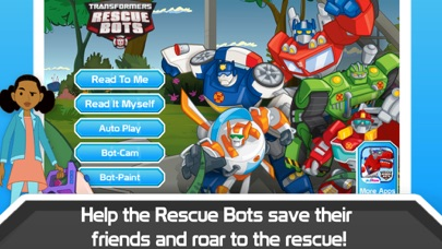 Transformers Rescue Bots: Sky Forest Rescue Screenshot