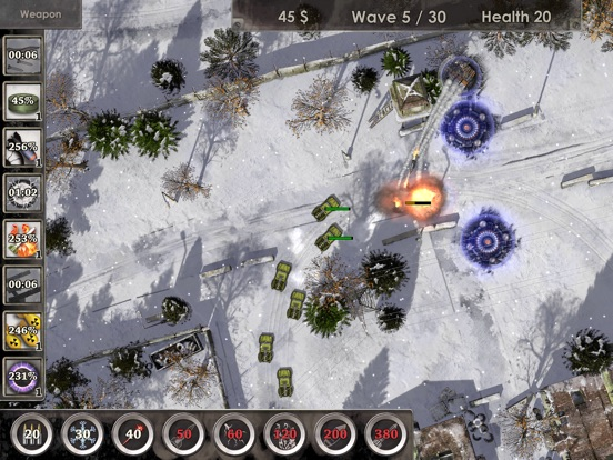 Defense Zone 3 HD на iPad