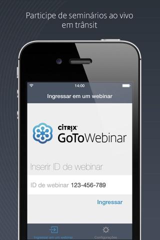 GoToWebinar screenshot 1