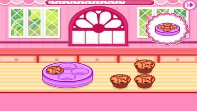 العاب طبخ كب كيك بالشوكولاته مع ماما سارةلقطة شاشة5