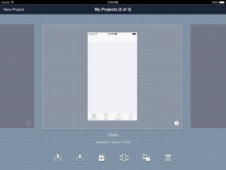 Blueprint app mockup by groosoft blueprint app mockup screenshot 1 malvernweather Choice Image