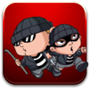 Thidarat Phaphakdi - Stealing the diamond in cops and robbers game  artwork