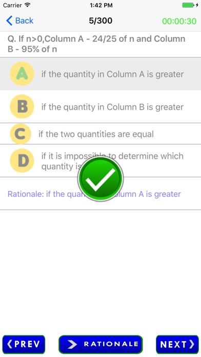 Screenshot of SAT Exam Prep3