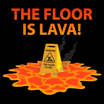 Floor is Lava Challenge app for iphone