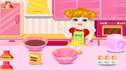 العاب طبخ كعكة ماما سارة الجميلة - العاب بنات طبخلقطة شاشة4
