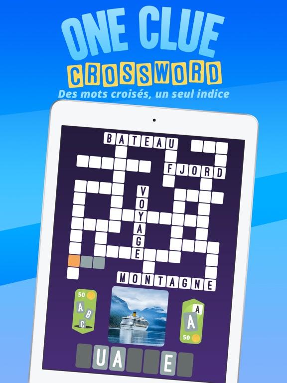 One Clue Crossword Dans L App Store