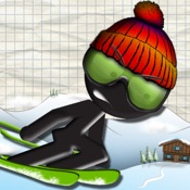 火柴人滑雪赛 – Stickman Ski Racer [iOS]