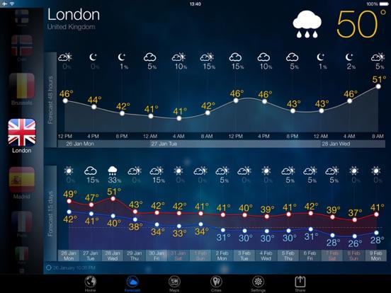 3D Земля - виджет погода Скриншоты9