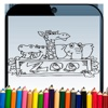 zoo coloring lovely hd images