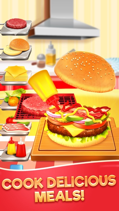Food Maker Kitchen Cook Games Screenshot on iOS