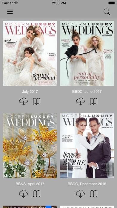 Modern Luxury Weddings review screenshots