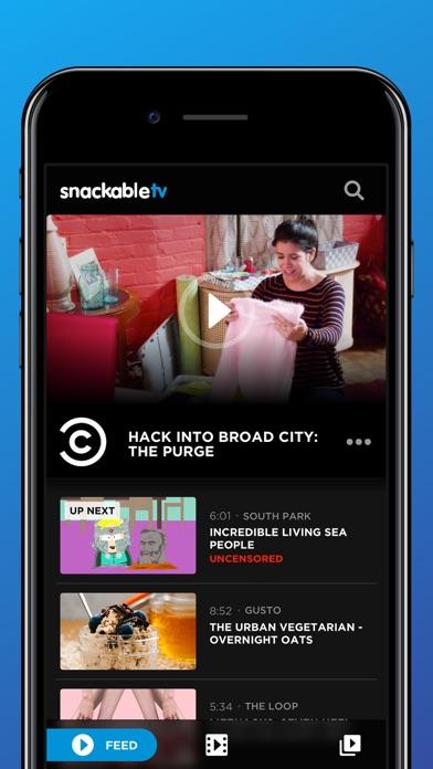 SnackableTV Screenshots