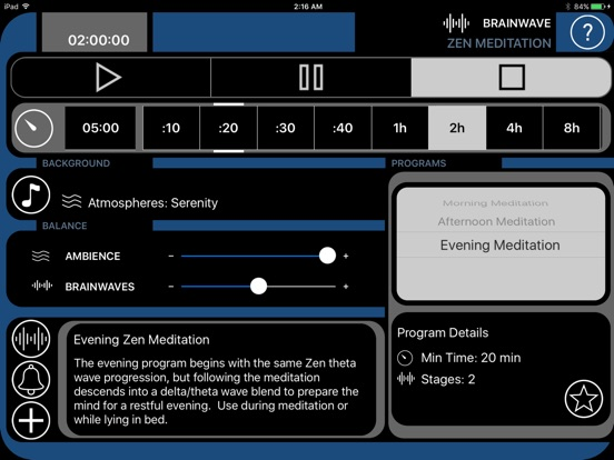 BrainWave - Binaural Zen Meditation with Ambience Screenshots