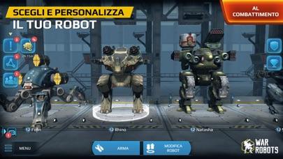 Screenshot of War Robots2