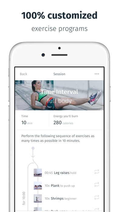 download 8fit Workouts & meal planner apps 4