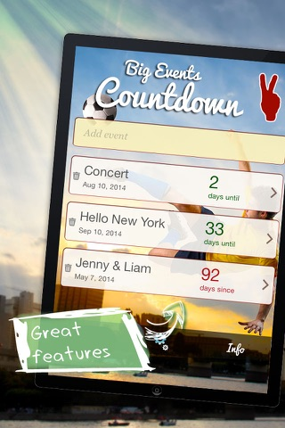 Big Days Countdown screenshot 4