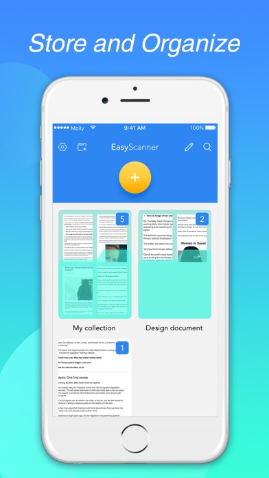 EasyScanner - Doc Scanner Screenshot 3