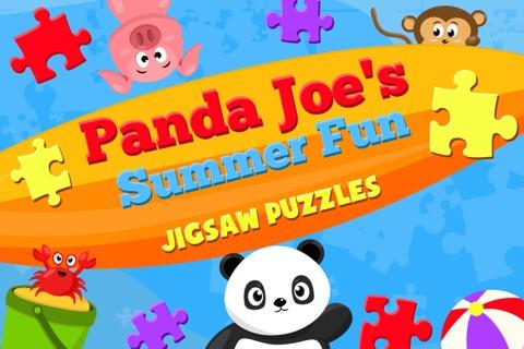 Cute Panda Jigsaw Puzzles For Kids & Toddlers screenshot 3