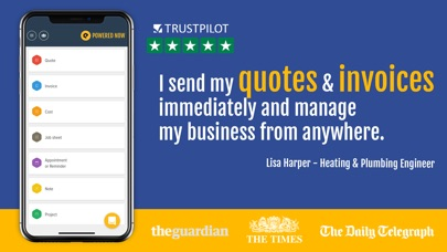 download Powered Now: Invoice & Quote appstore review