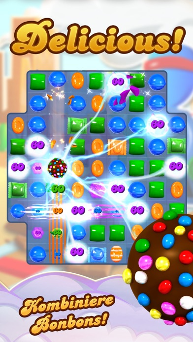 Candy Crush Saga iOS Screenshots