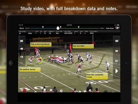 Hudl screenshot 3