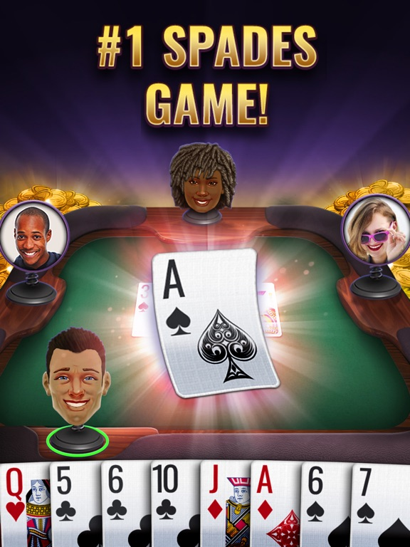 Spades Royale #1 Card Game на iPad