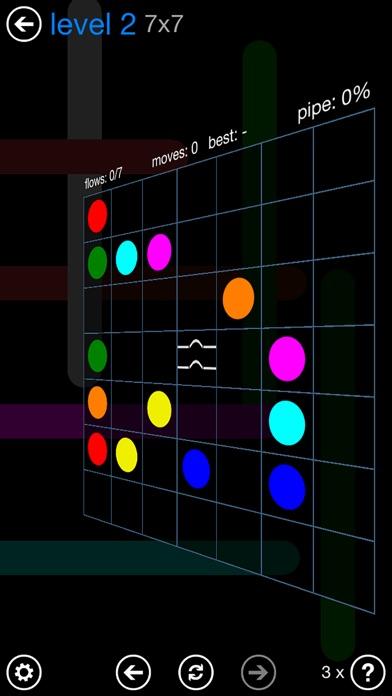 Screenshots of Flow Free: Bridges for iPhone