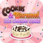biscoito de sorvete de caramel icon