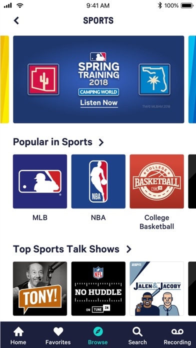 Screenshot #10 for TuneIn Pro - Radio & Sports