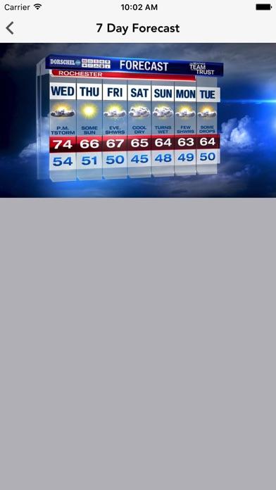WROC Weather 8 RochesterFirstScreenshot of 5