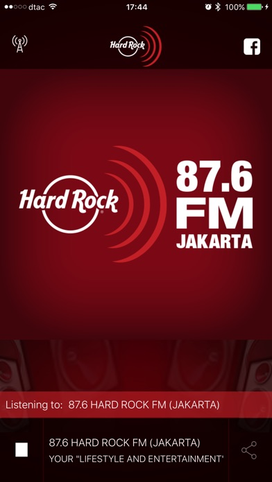 Hard Rock FM iPhone