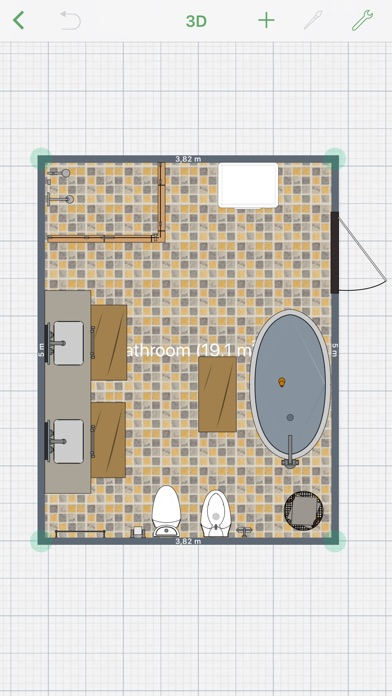 bathroom planner app report on mobile action