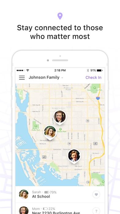 Screenshot of Trova iPhone, Amici & Famiglia2