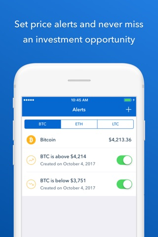 Coinbase - Buy Bitcoin & more screenshot 3