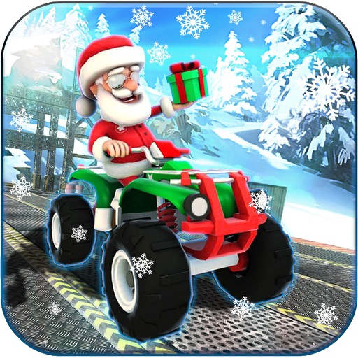 Impossible ATV Santa Stunts