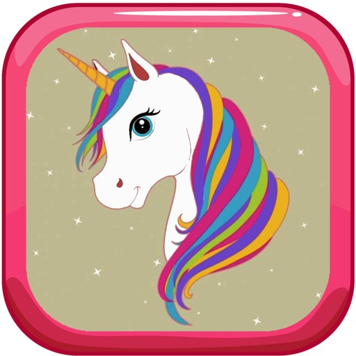 Paint Tiny Unicorn Games Coloring Pages by Thana ...