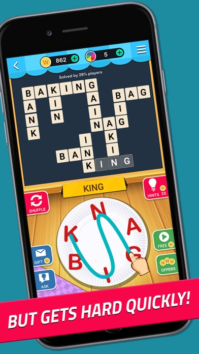 Crossword Jam: Fun Brain Game screenshot 3
