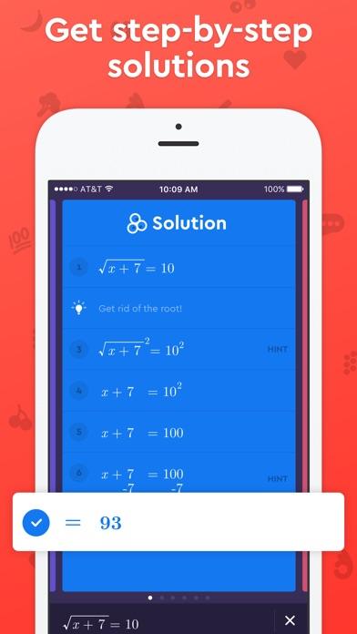 Screenshot 2 for Socratic's iPhone app'