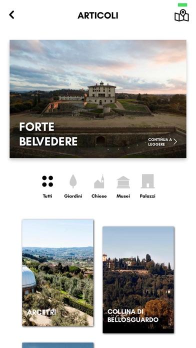 Screenshot of Oltrarno App3