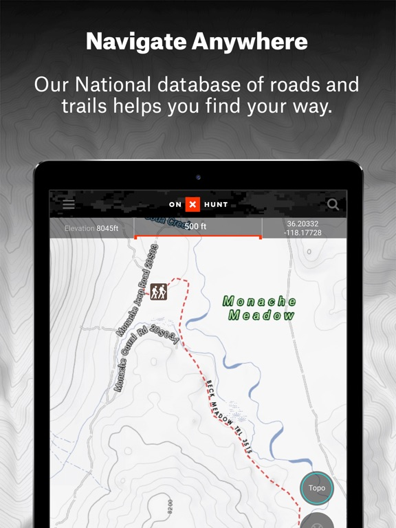 OnX Hunt GPS Hunting App On The App Store - Us topo maps app wont download maps