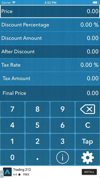 Discount|Taxلقطة شاشة1