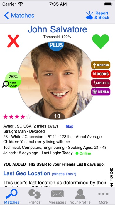 Dating dna app review