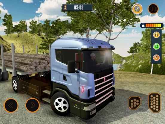 Водитель грузовика: Автостоянка автомобилей Скриншоты8